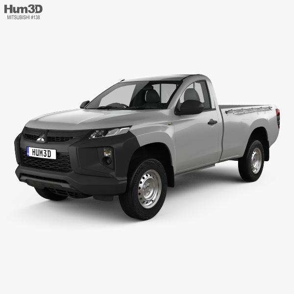 Mitsubishi Triton Single Cab 2019 3D model