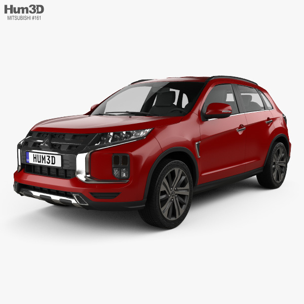 3D model of Mitsubishi ASX 2019