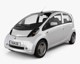 3D model of Mitsubishi i MiEV 2010