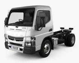 Mitsubishi Fuso Canter Superlow City Cab Chassis Truck L1 2016 3D model