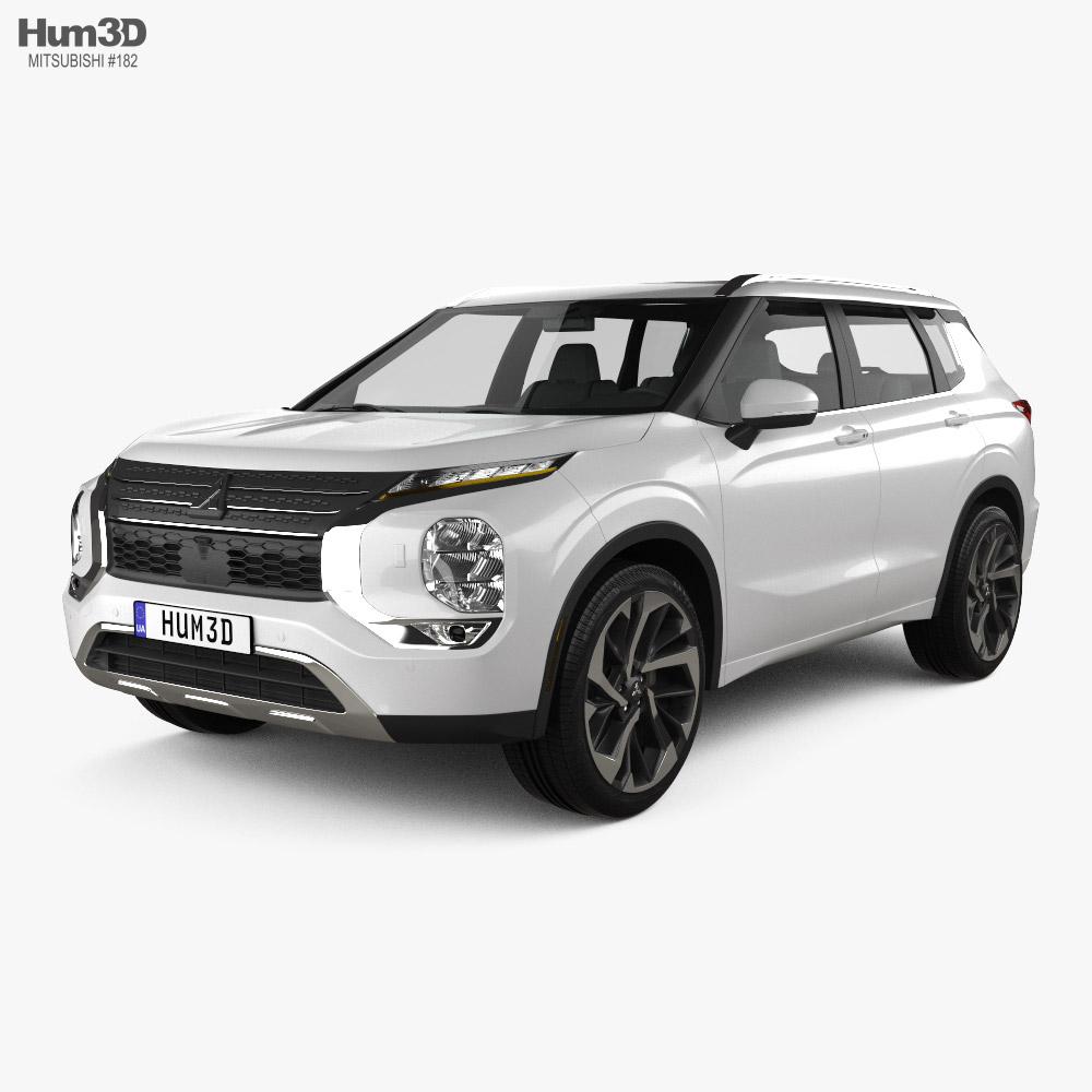 Mitsubishi Outlander SEL US-spec 2021 3D model