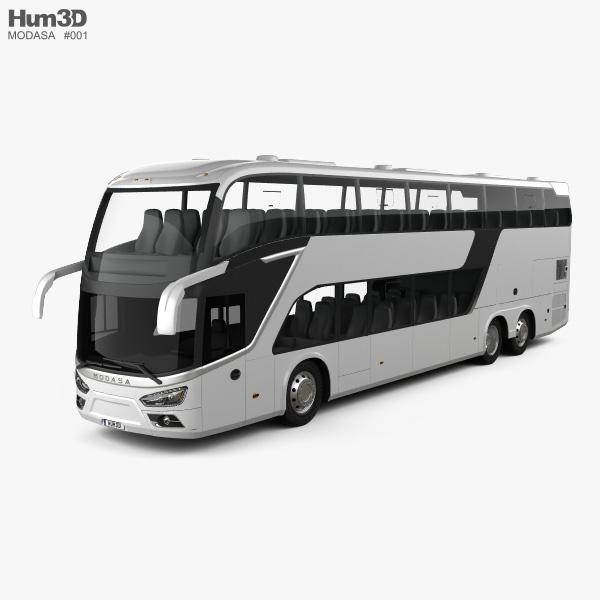 Modasa Zeus 4 Bus 2019 3D model