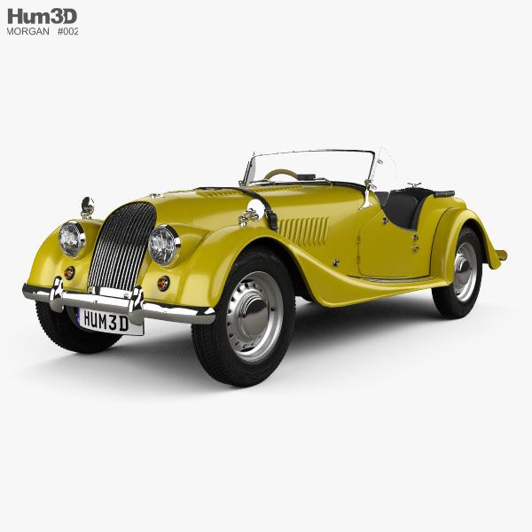 Morgan Plus 4 1954 3D model