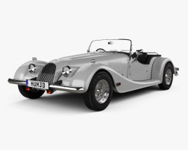 3D model of Morgan Plus 8 1968