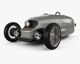 3D model of Morgan EV3 2017