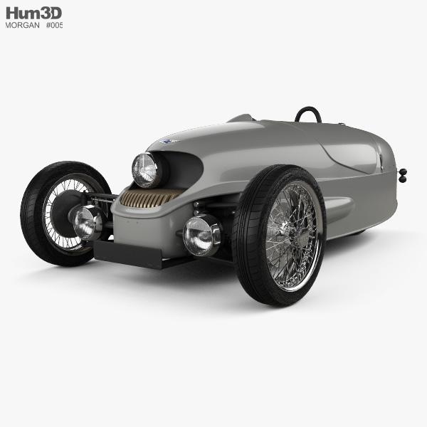 3D model of Morgan EV3 2017