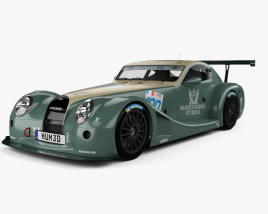 3D model of Morgan Aero 8 SuperSports GT3 2009