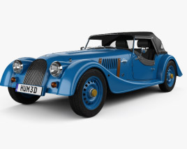 3D model of Morgan 4/4 80th Anniversary 2016