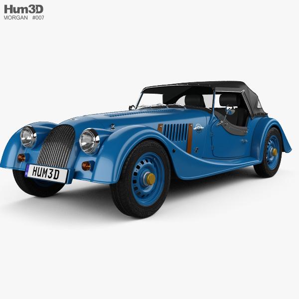 3D model of Morgan 4/4 80th Anniversary 2016