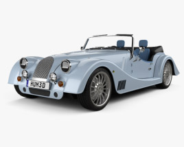 3D model of Morgan Plus Six 2020