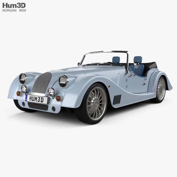 3D model of Morgan Plus Six 2020