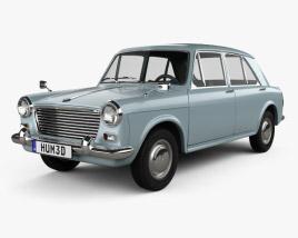 3D model of Morris 1100 (ADO16) 1962