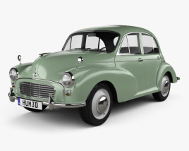 3D model of Morris Minor 1000 Saloon 1962