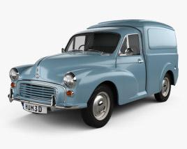 Morris Minor Van 1955 Modelo 3d