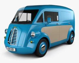 3D model of Morris JE Van 2019