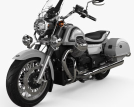 3D model of Moto Guzzi California 1400 Touring 2015