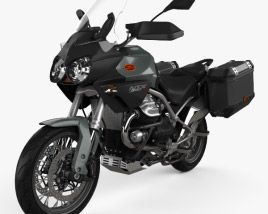3D model of Moto Guzzi Stelvio 1200 NTX 2015