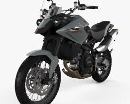 3D model of Moto Morini Granpasso 1200 2008
