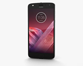 Motorola Moto Z2 Play Lunar Gray 3D model