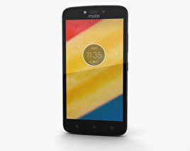 3D model of Motorola Moto C Starry Black