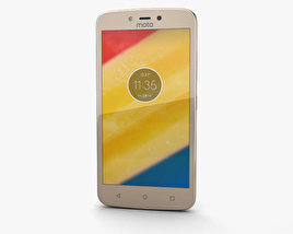 3D model of Motorola Moto C Plus Fine Gold