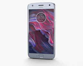 3D model of Motorola Moto X4 Sterling Blue