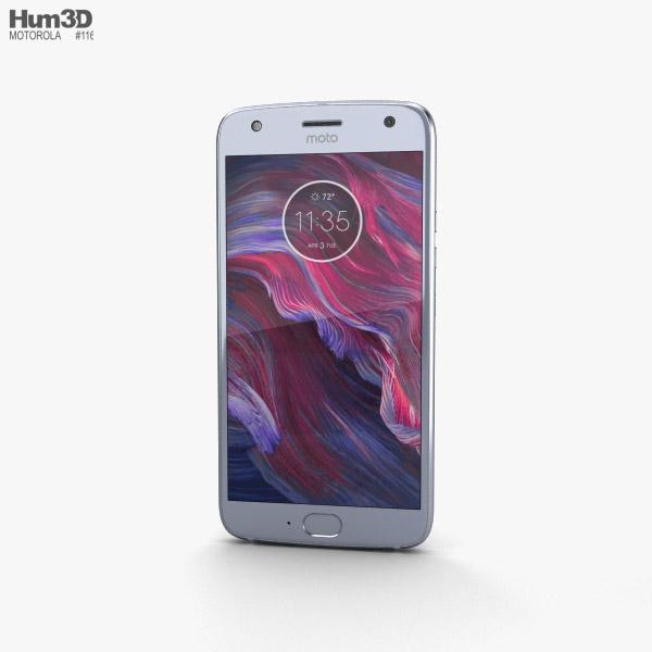 Motorola Moto X4 Sterling Blue 3D model