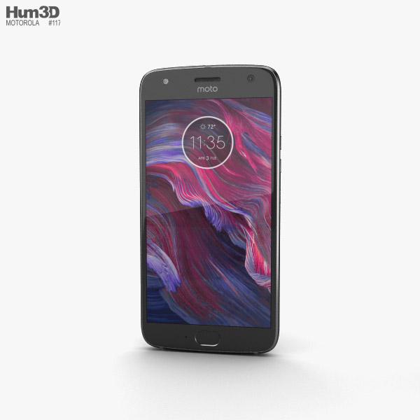 Motorola Moto X4 Super Black 3D model
