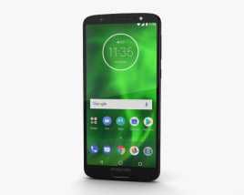 3D model of Motorola Moto G6 Black
