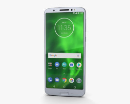 3D model of Motorola Moto G6 Silver