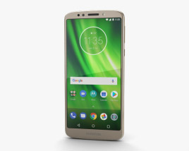 3D model of Motorola Moto G6 Play Gold