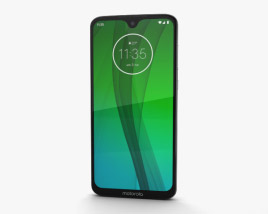 3D model of Motorola Moto G7 Clear White