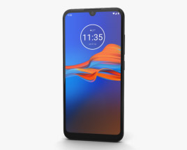 Motorola Moto E6 Plus Polished Graphite 3D model