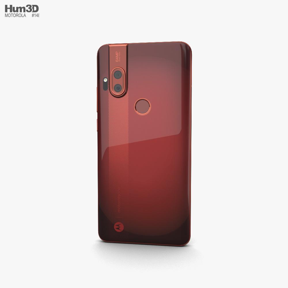 Motorola One Hyper Dark Amber 3d model