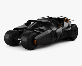 3D model of Batmobile Tumbler 2005