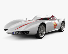 3D model of Speed Racer Mach 5 1997