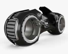 Tron Legacy Light Cycle 3D model
