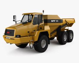 3D model of Moxy MT36 Dump Truck 2011