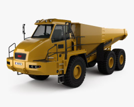 3D model of Moxy MT51 Dump Truck 2011
