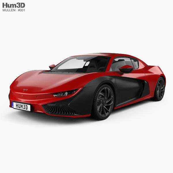 3D model of Mullen Qiantu K50 2019