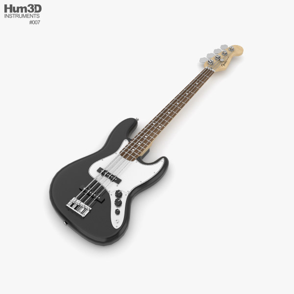 Fender Jazz Bass 3D model