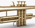 Louis Armstrong's Trumpet 3d model