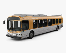 3D model of NABI CompoBus C 45 2013