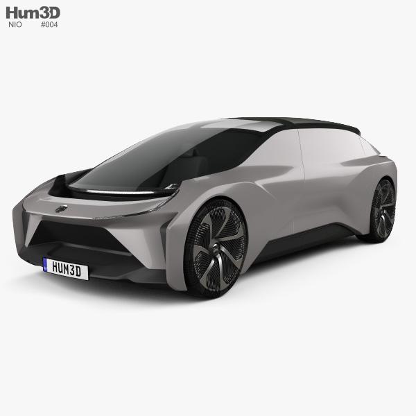 NIO EVE 2018 3D model