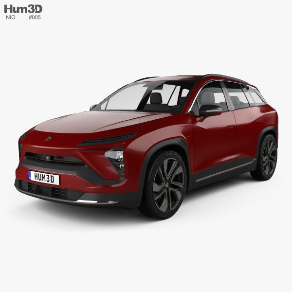 NIO ES6 2019 3D model