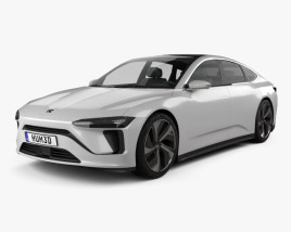 3D model of NIO ET Preview 2019