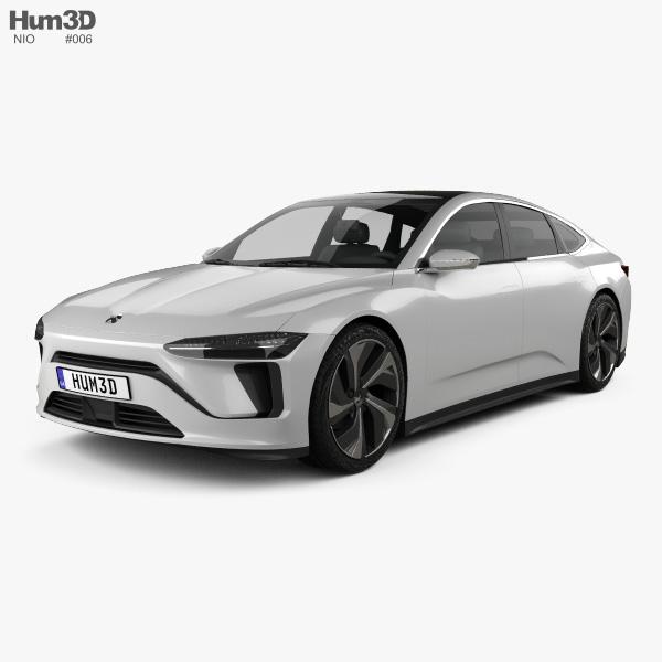 NIO ET Preview 2019 3D model