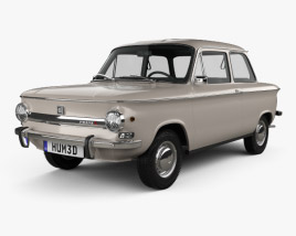3D model of NSU Prinz 4 1961