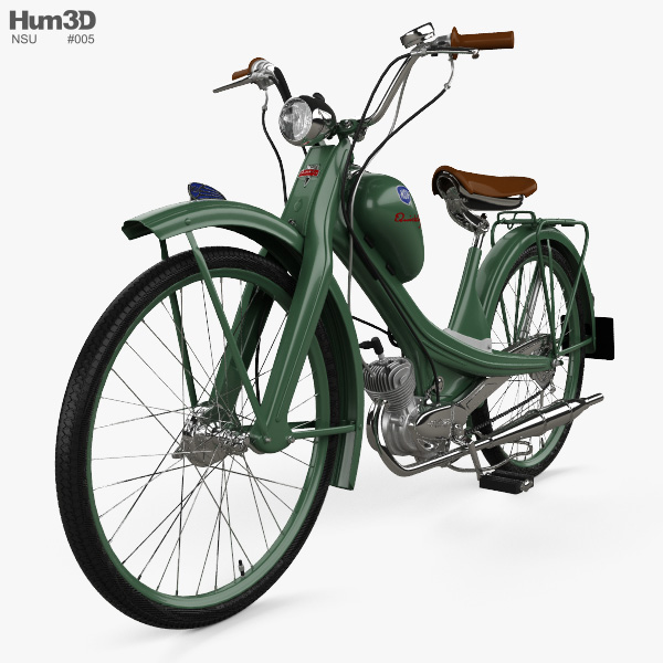 3D model of NSU Quickly N 1953