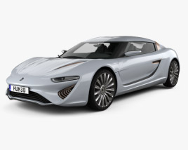 3D model of Quant e-Sportlimousine 2014